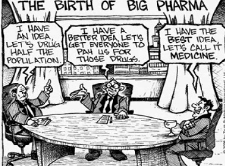 The Birth of                     Pharmaceuticals